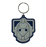 Doctor Who - Cyberman (Portachiavi Gomma)