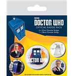 Doctor Who - 12th Doctor (Pin Badge Pack)