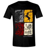 Game Of Thrones - Distressed Sigil (T-SHIRT Unisex )
