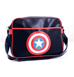 Captain America - Shield Logo Messenger Bag (Borsa A Tracolla)