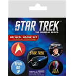 Star Trek - The Original Series (Pin Badge Pack)