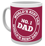 Father's Day - No 1 Dad (Tazza)
