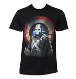T-shirt Captain America Civil War Marvel Mercenary Cross Bones
