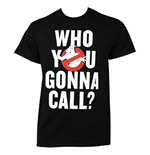 T-shirt Ghostbusters Who You Gonna Call