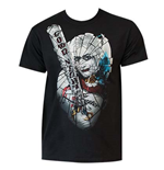 T-shirt Suicide Squad Harley Quinn Broken Glass