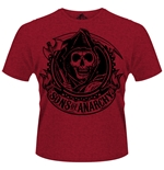 T-shirt Sons of Anarchy Reaper Banner
