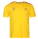 T-shirt Romania UEFA Euro 2016 Core (Giallo)