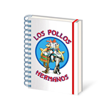 Breaking Bad - Los Pollos Hermanos (Notebook A5)