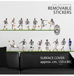 Sticker Murale Juventus 15 Players