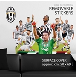 Sticker Murale Juventus Buffon&Team
