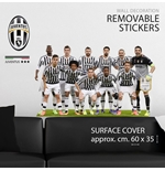 Sticker Murale Juventus Full Team