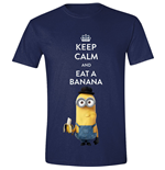 Minions Movie - Keep Calm Navy (T-SHIRT Unisex )