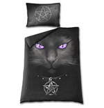 Parure letto singolo Spiral - Black Cat
