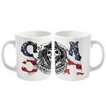 Tazza Sons of Anarchy Usa Logo