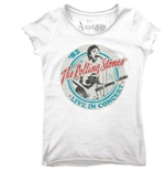 Rolling Stones (THE) - Tour 82 White (T-SHIRT Donna )