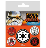 Star Wars Rebels - Villains (Pin Badge Pack)