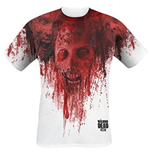 Walking Dead - Walkers In Face Stain Full Printed (T-SHIRT Unisex )