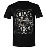 Walking Dead - Protected By Grimes And Dixon (T-SHIRT Unisex )