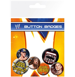 Wwe - Superstars (Badge Pack)