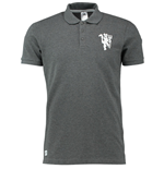 Polo Manchester United 2016-2017 Adidas BST Core Crew (Grigio Scuro)