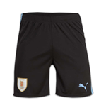 Pantaloncini Short Uruguay calcio 2016-2017 Home (Nero)