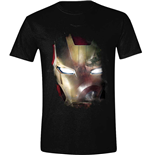 Captain America - Civil War - Iron Man Reflection Black (T-SHIRT Unisex )
