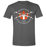 Star Wars - The Force Awakens - Resistance Squadron Anthracite Melange (T-SHIRT Unisex )