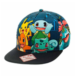 Pokemon - Charmander And Friends Snapback (Cappellino)