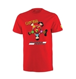 "T-shirt Rossa ""Kids Love Ferrari"""