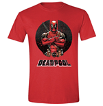 Deadpool - Crossing Arms Red Melange (T-SHIRT Unisex )