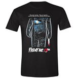 Friday The 13TH - The First Poster Black (T-SHIRT Unisex )