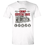 Friday The 13TH - Camp Crystal Lake White (T-SHIRT Unisex )
