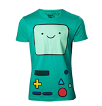 T-shirt Adventure Time Beemo Games Console - taglia M