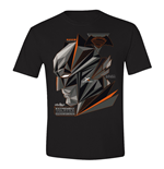 Batman V Superman - Cubic Head Black (T-SHIRT Bambino )
