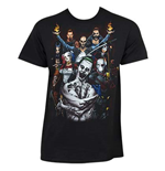 T-shirt Suicide Squad Group Shot