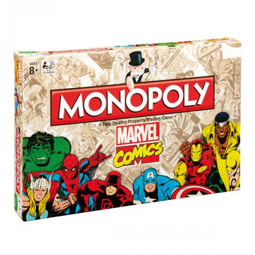 Monopoly Marvel Comics Edition