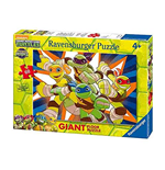 Ravensburger 05471 - Puzzle 60 Pz Giant - Teenage Mutant Ninja Turtles - Giovani Eroi