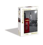 Puzzle 500 Pz - High Quality Collection - London Phone Box