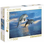 Puzzle 500 Pz - High Quality Collection - Delfini