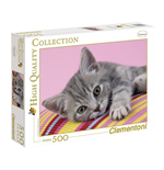 Puzzle 500 Pz - High Quality Collection - Grey Kitten