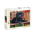 Puzzle 500 Pz - High Quality Collection - The Black Dog