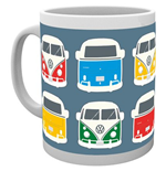 Vw Camper - Campers Colours Illustration (Tazza)