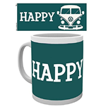 Vw Camper - Happy Camper (Tazza)