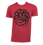 T-shirt Il trono di Spade (Game of Thrones) Targaryen Fire Blood