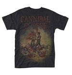 T-shirt Cannibal Corpse Chainsaw