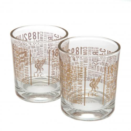 Set Bicchierini da whiskey Liverpool FC