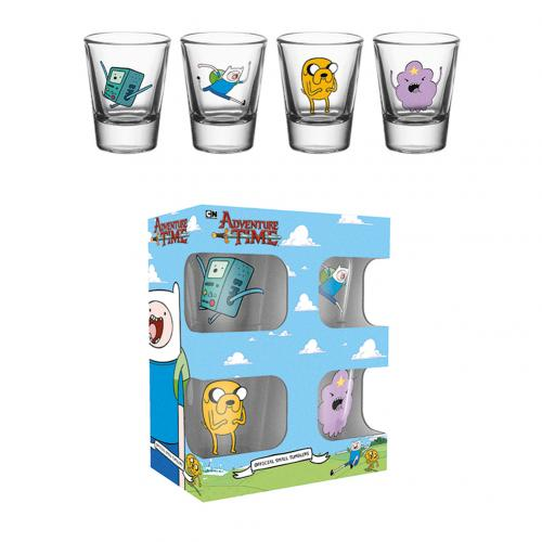 Set Bicchierini Adventure Time