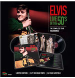 Vinile Elvis Presley - Live In The 50's - The Complete Tour Recordings (2 Lp +24 Page Gatefold)