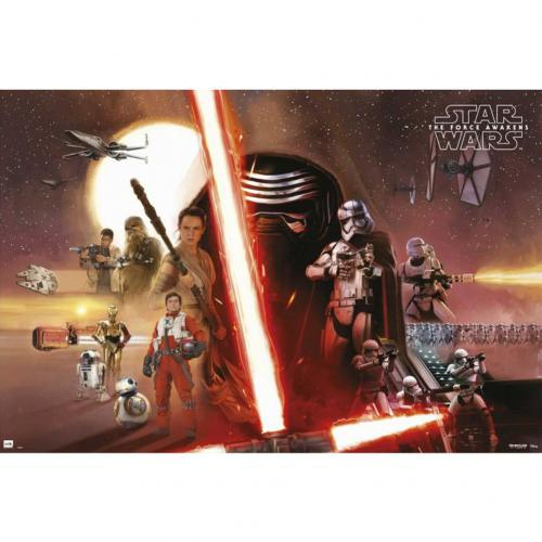 Poster Star Wars 223303