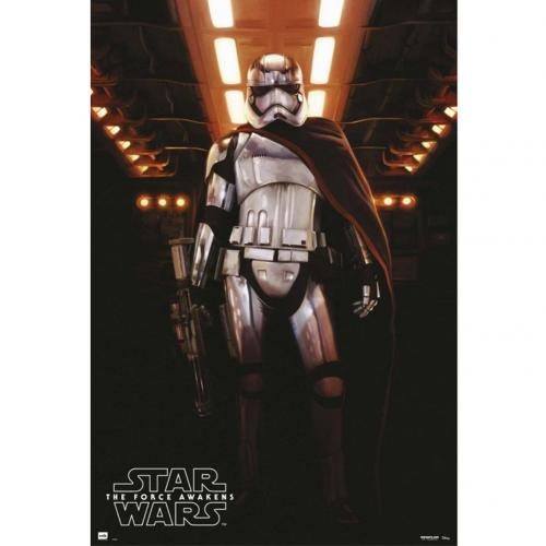 Poster Star Wars The Force Awakens Captain Phasma 204